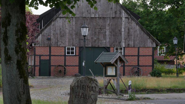 Ansicht Heimathaus von der Bauerschaftsstraße